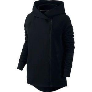 Nike / Womens Cape Full Zip Fleece Hooded Jacket